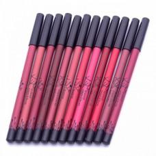 Карандаш для губ Kylie Crayon a Levres (12 шт)