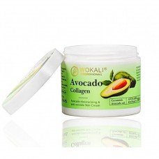 Крем лица и тела Wokali avocado collagen firming cream