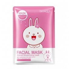 Маска для лица Bioaqua facial mask animal moisturizing mask rabbit