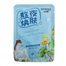 Маска для лица Bioaqua natural extract water lily moist mask