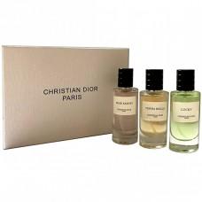 Набор парфюмерии Christian Dior Paris 3 в 1 (Rose Kabuki, Terra Bella, Lucky)