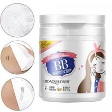 Салфетки влажные для снятия макияжа BioAqua Super BB Eraser Show