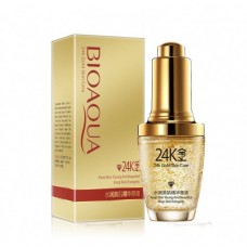 Сыворотка-лифтинг BioAqua 24K Gold Skin Care