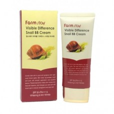 Крем тональный Farm Stay Visible Difference Snail BB Cream (натуральный тон)